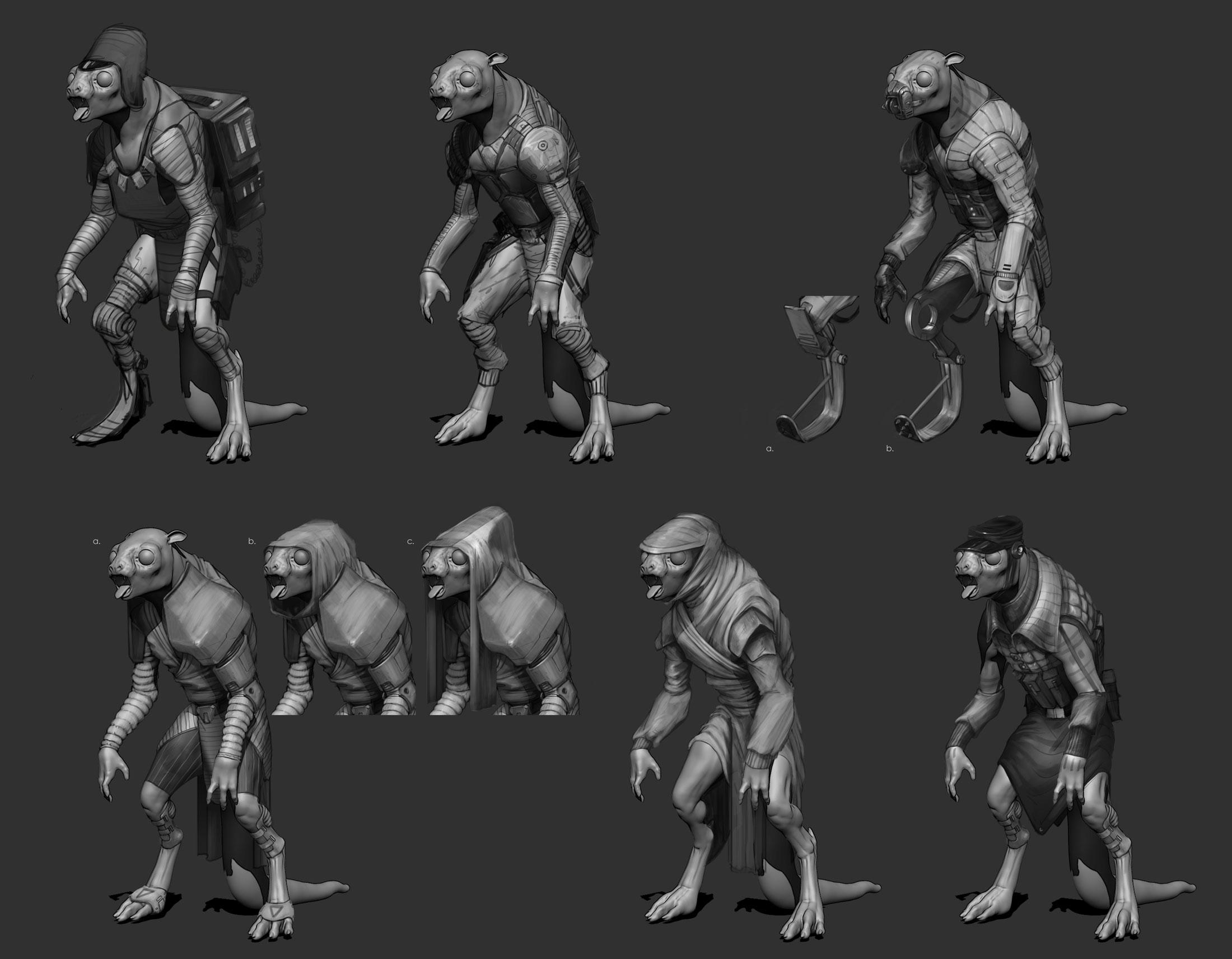 RatCreature_Sketches_Presentation_01